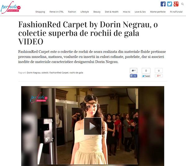 FashionRed Carpet by Dorin Negrau